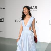 Liu Wen amfar Cannes 2014