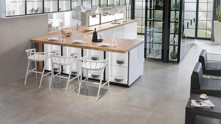 Opt Ceramica Urban Acero 80 Cm X 80 Cm45 Cm X 120 Cm Venis Porcelanosa