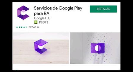 La app de ARCore ahora se llama 'Servicios de Google Play para RA', y sigues sin necesitar instalarla manualmente