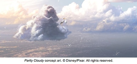 'Partly cloudy', nuevo trabajo de Pixar