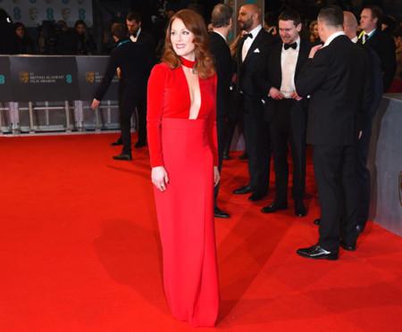 Divas solo hay una y se llama Julianne Moore. Un Tom Ford conquista los BAFTA 2015