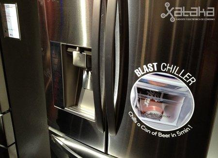 LG Blast Chiller: enfría tu bebida en cinco minutos