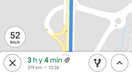 Google Maps ya muestra la velocidad del coche, aunque aún no está disponible para todos los usuarios