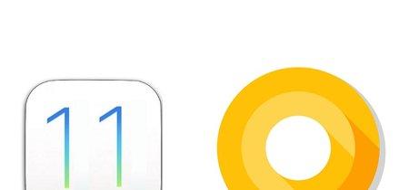iOS 11 frente a Android 8 Oreo: la pelea por ser el mejor sistema operativo móvil está muy reñida