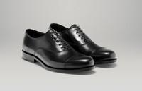 Zapatos de cordones negros