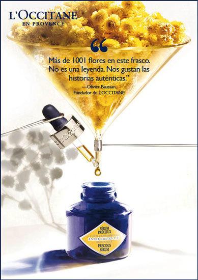 Nuevo Serum Precioso L'Occitane con concentrado de extractos de siempreviva