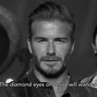 David Beckham, ese motero atormentado, forajido, salvador de bailarinas... bueno, algo así