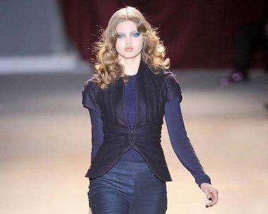 Maquillaje de pasarela: melenas sexys en el desfile de Zac Posen en la Paris Fashion Week Otoño-Invierno 2011/2012