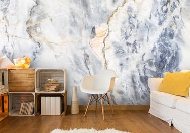 Wallpapers con texturas naturales, una buena idea para transformar una estancia sin obras