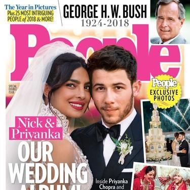 Por fin podemos ver los dos (ideales) looks de la boda de Priyanka Chopra y Nick Jonas