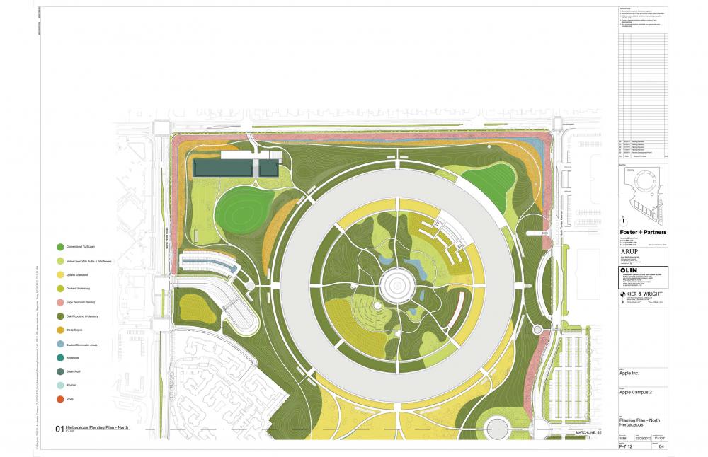 Foto de Proyecto original del nuevo campus de Apple (26/27)
