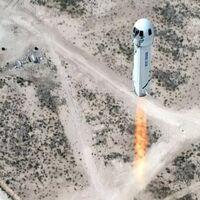 Ser turista espacial saldrá caro: la subasta para el primer vuelo de Blue Origin alcanza ya los 2,8 millones de dólares
