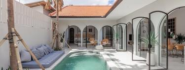 La semana decorativa: casas de ensueño con piscina y tendencias en formas, texturas y contrastes