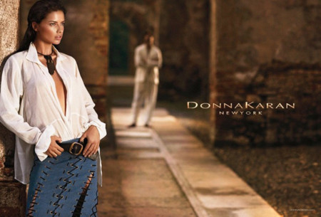 Camisa Donna Karan Adriana Lima