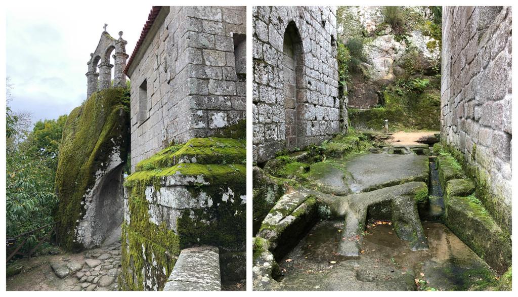 El Monasterio de San Pedro de Rocas en Ourense