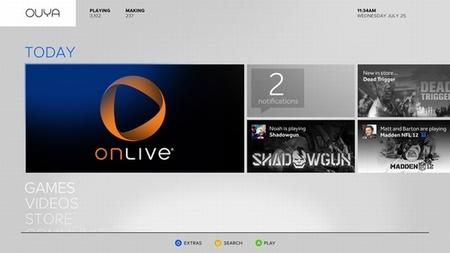 Se confirma la llegada de OnLive a Ouya, la consola Android que nos trae de cabeza