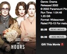 iTunes lanza alquileres a 0'99 dólares
