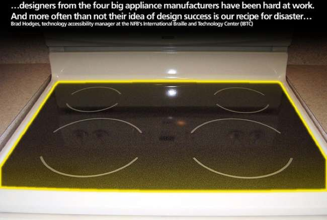 Adaptador de cocina para ciegos for Instrumentos para cocina