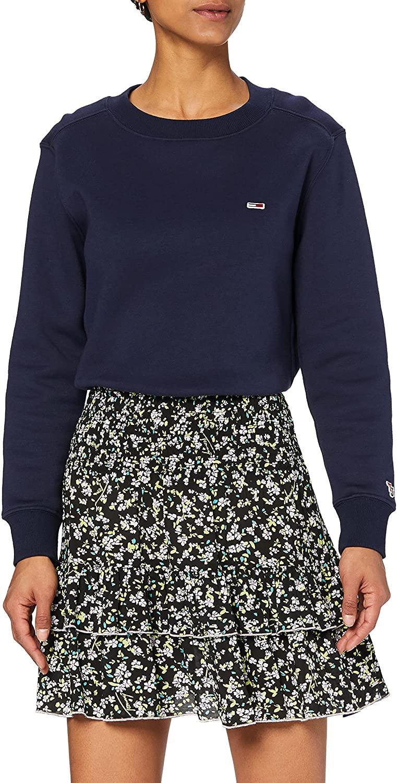 Tommy Jeans Tjw Smocked Waist Floral Skirt Falda para Mujer
