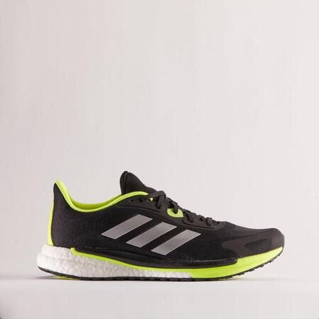 Adidas Supernova Unite Hombre Negro Amarillo Zapatillas Running