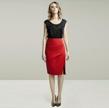 Rojo lookbook mayo de Zara