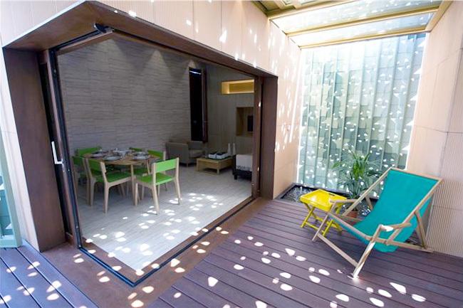 Patio 2.12, un concepto de vivienda inteligente finalista del Solar Decathlon