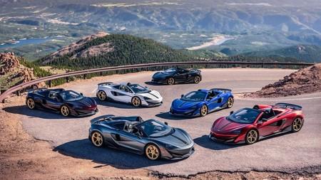 McLaren lanza la nueva colección 600LT Spider Pikes Peak