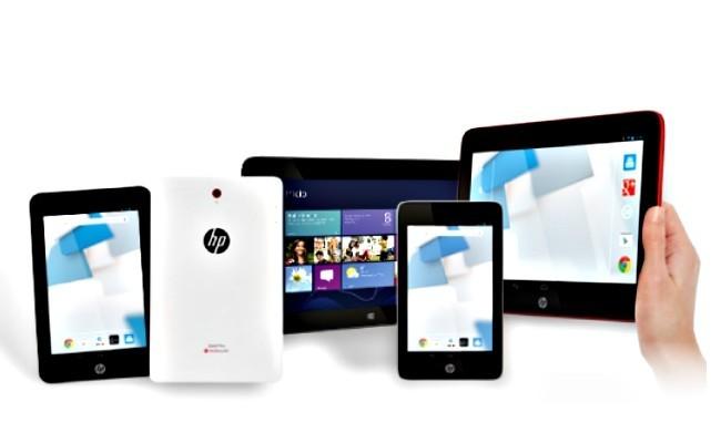 Precios de la nueva familia de tablets Android y Windows 8.1 de HP