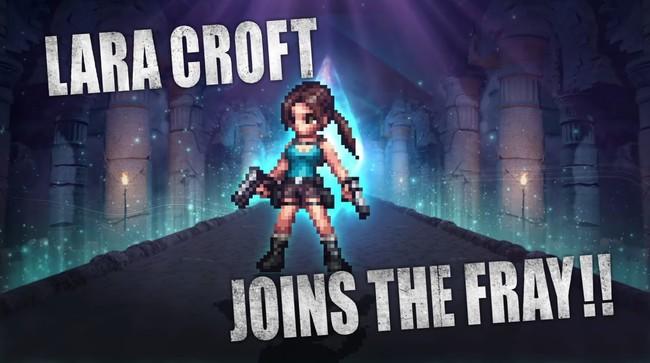 Lara Croft se une temporalmente a Final Fantasy: Brave Exvius como un nuevo personaje