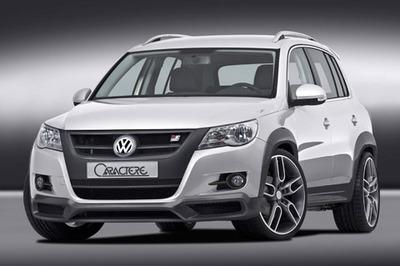 Volkswagen Tiguan por Caractere