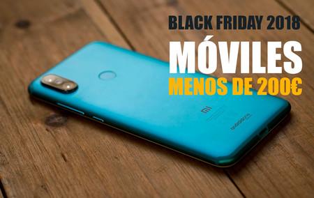 Black Friday 2018: las mejores ofertas de móviles de gama de entrada por menos de 200 euros