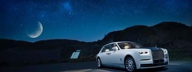 El Rolls-Royce Phantom Tranquillity es un excéntrico sedán de superlujo inspirado en el espacio