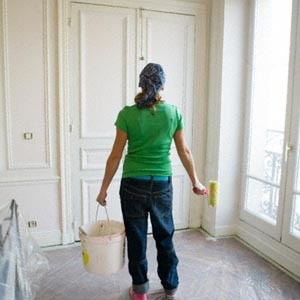 Evitar las manchas de pintura en el suelo