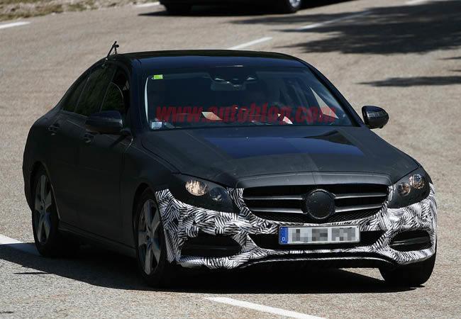 Mercedes-Benz Clase C 2015 (espía) (6/6)