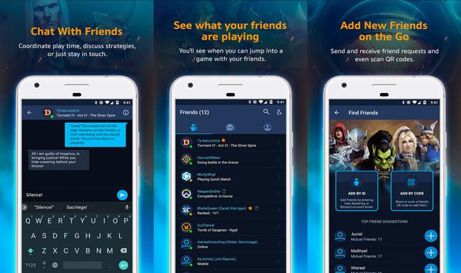Battlenet Blizzard™ Android™ App