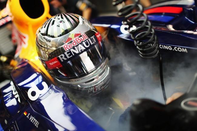 Sebastian Vettel Abu Dhabi 2012
