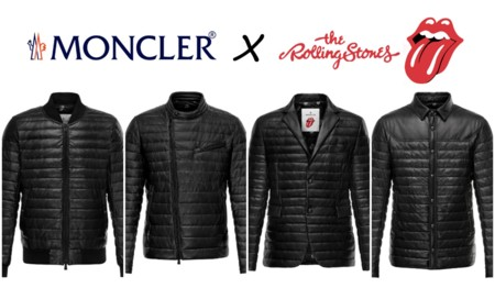 Moncler con la lengua fuera: The Rolling Stones jacket's collection