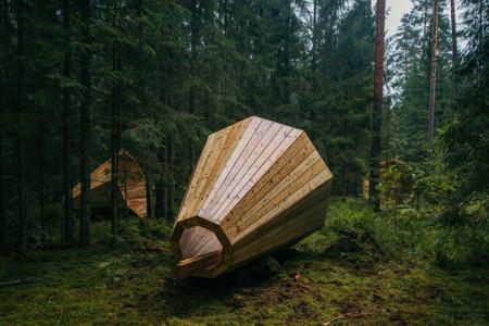 El relajante sonido de la naturaleza se amplifica gracias a estos enormes megáfonos