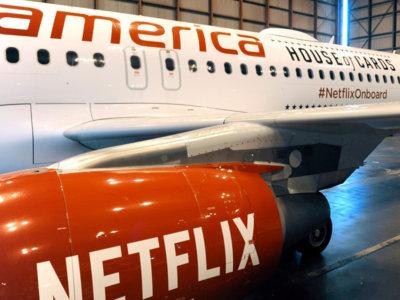Netflix en las nubes, el servicio se estrena en los aviones de Virgin America