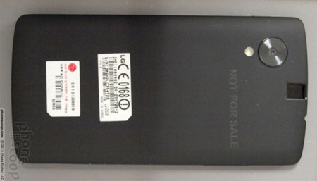 Imágenes de LG Nexus 5, gracias a la FCC