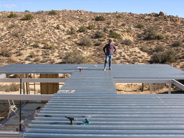 Casas poco convencionales: vivir en el desierto (III)