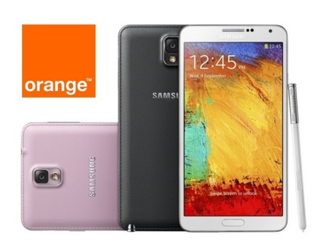 Precios Samsung Galaxy Note 3 con Orange