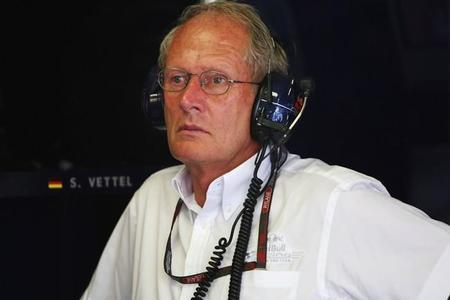 """Helmut Marko sobre el test de Mercedes: """"la FIA lo tiene que aclarar, parece una violación de las reglas"""""""