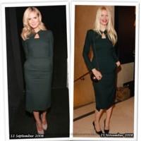 Vestido de Roland Mouret: Heidi Klum o Claudia Schiffer