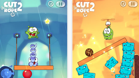 Cut the rope 2, disponible en la App Store