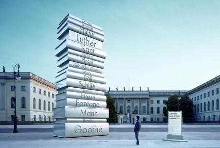 Book Printing Sculpture Berlin