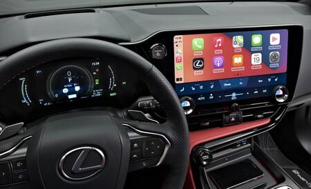 Lexus Nx 450h 2021 Interior 2