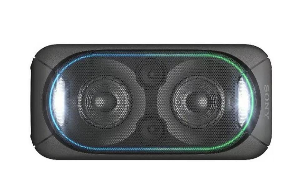 Altavoz de gran potencia - Sony GTK XB60, Bluetooth, NFC, ClearAudio+, LED, Negro