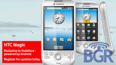 HTC Magic, el terminal Android de Vodafone