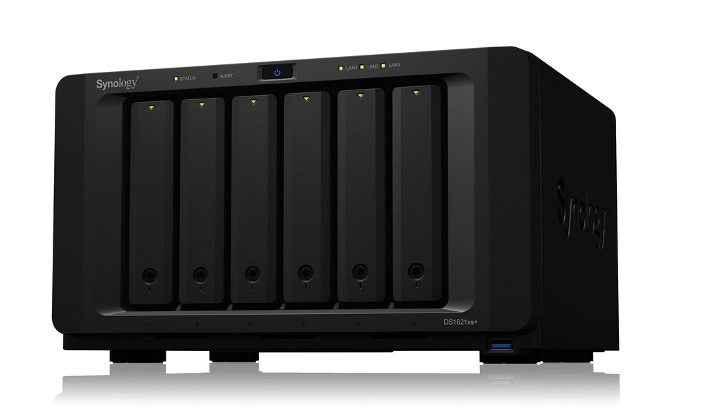 Synology presenta el DiskStation DS1621xs+: un potente NAS de 6 bahías con puerto 10 GbE para montar la oficina en casa
